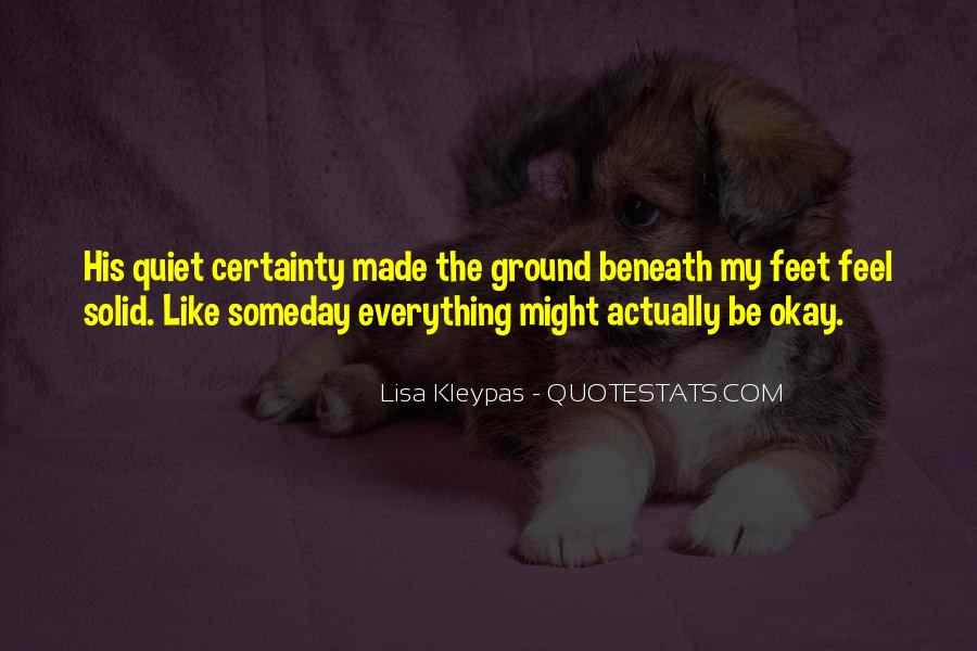 Quotes About Be Okay #86949