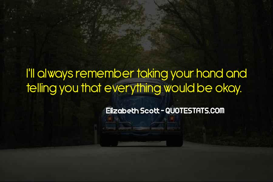 Quotes About Be Okay #97757