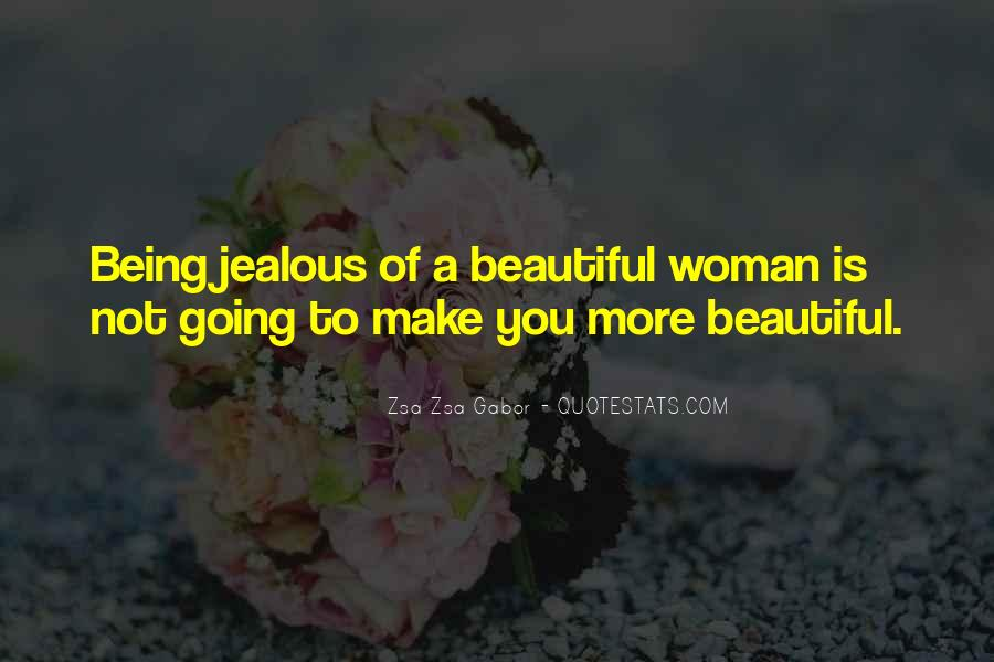 Sorry For Being So Jealous Quotes #75955