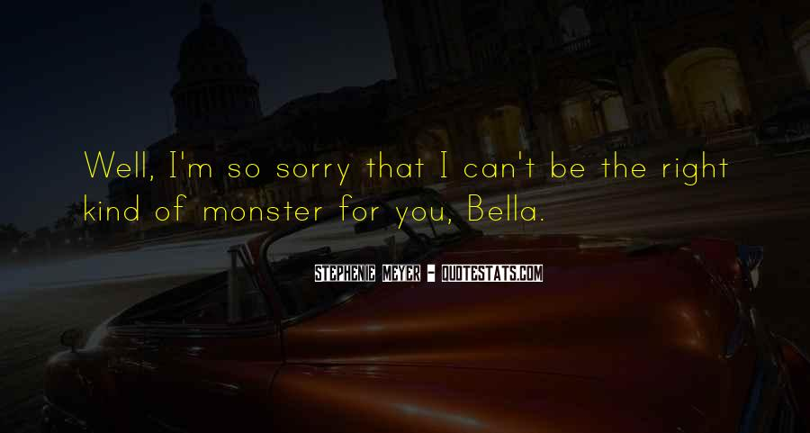Sorry For Love You Quotes #248006