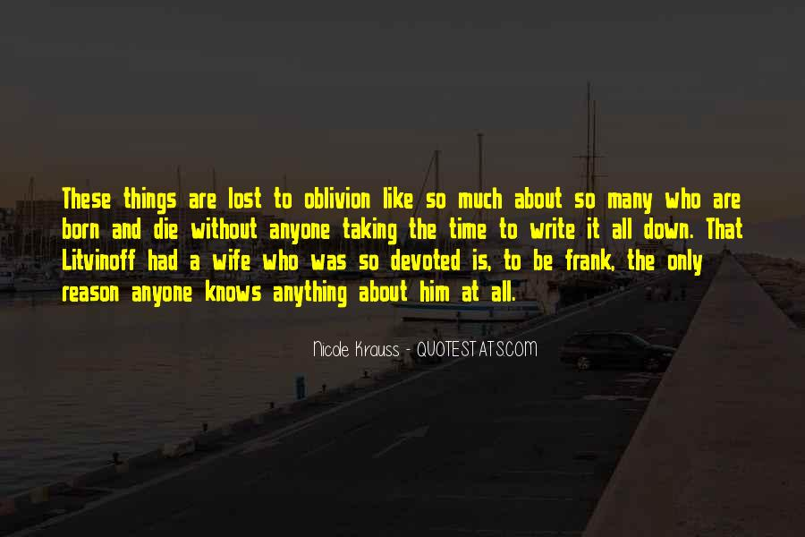 Sorry For Your Loss Husband Quotes #1550849
