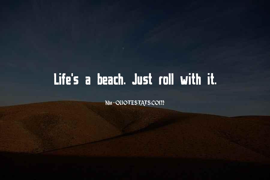 Quotes About Beach Life #1197403