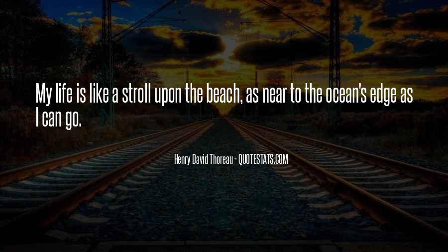 Quotes About Beach Life #1613781