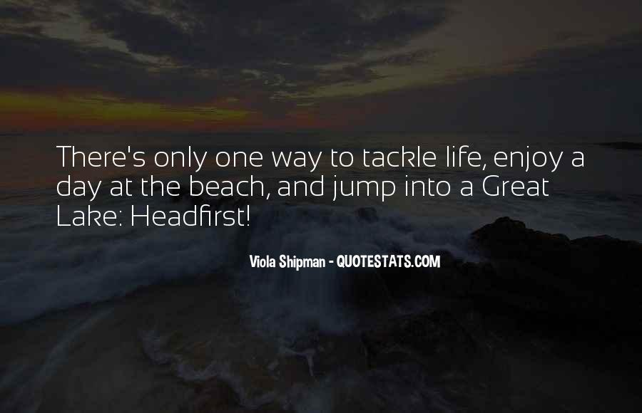Quotes About Beach Life #259677