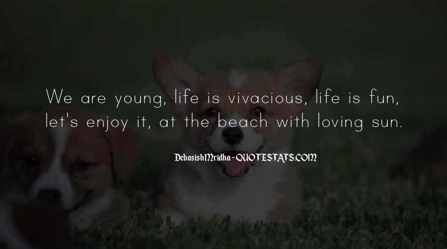 Quotes About Beach Life #456191