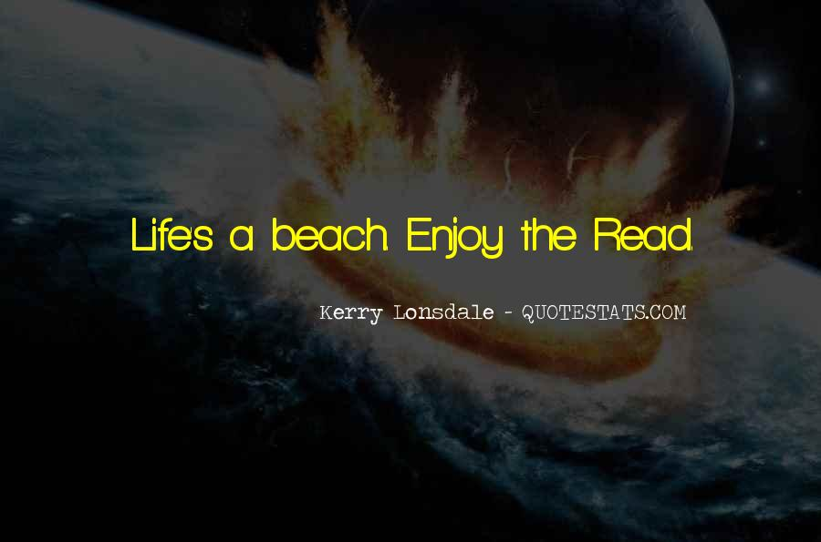 Quotes About Beach Life #65952