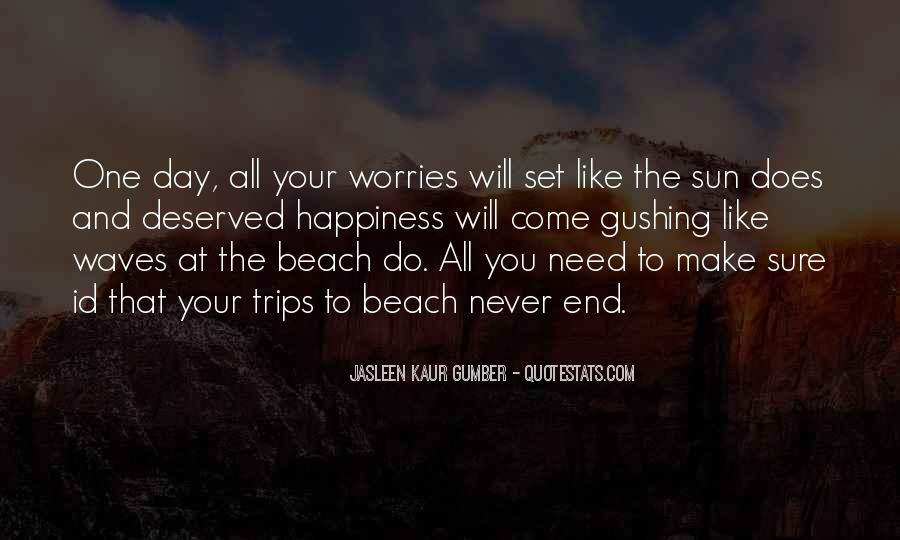 Quotes About Beach Life #743259
