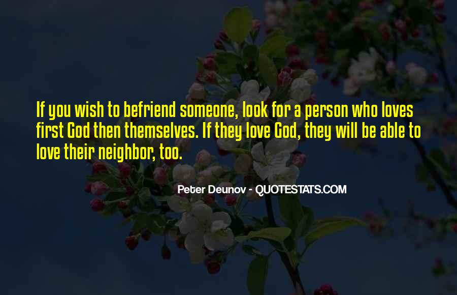 Quotes About Befriend #1670196