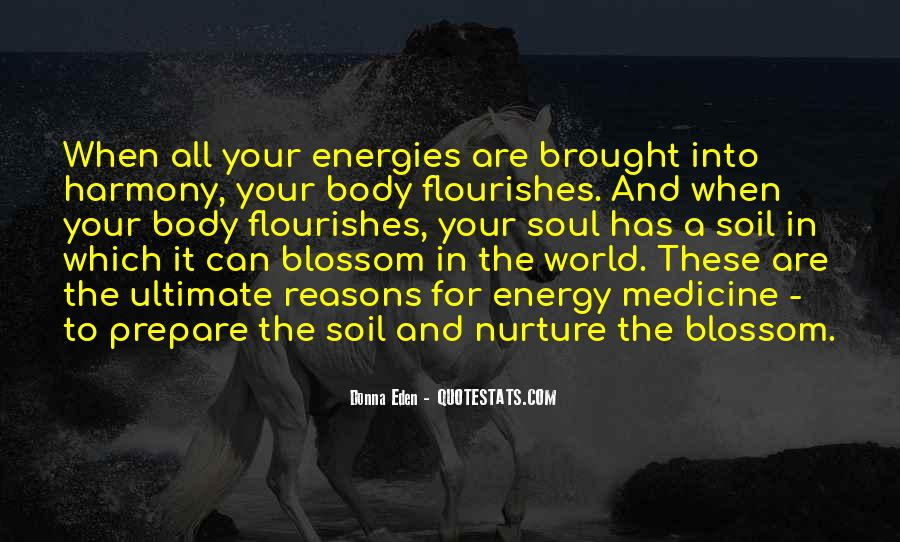 Soul And Energy Quotes #1284694