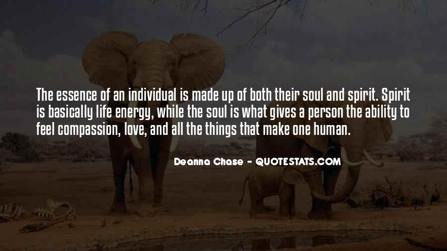 Soul And Energy Quotes #1385487