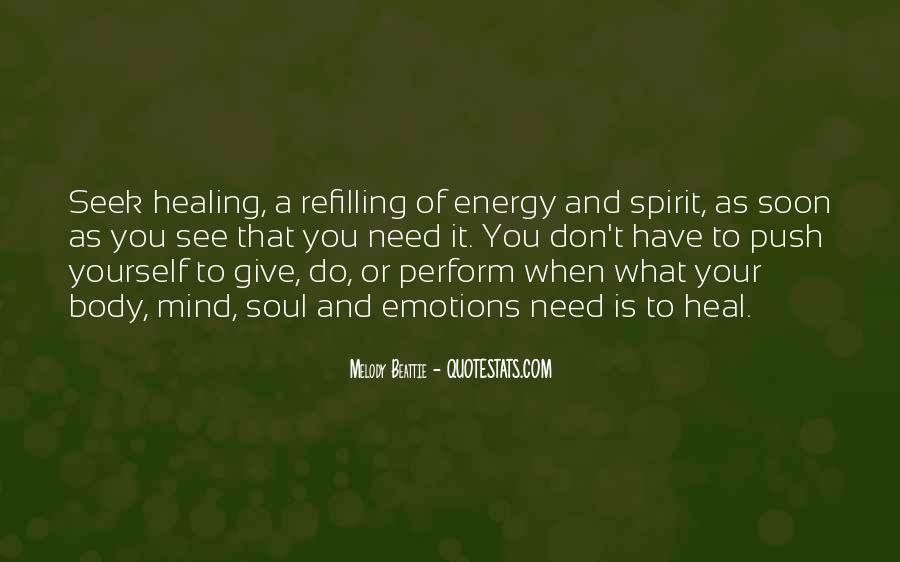 Soul And Energy Quotes #14603