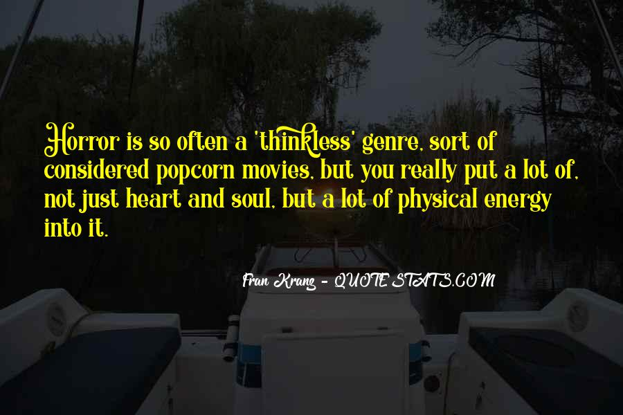 Soul And Energy Quotes #187614