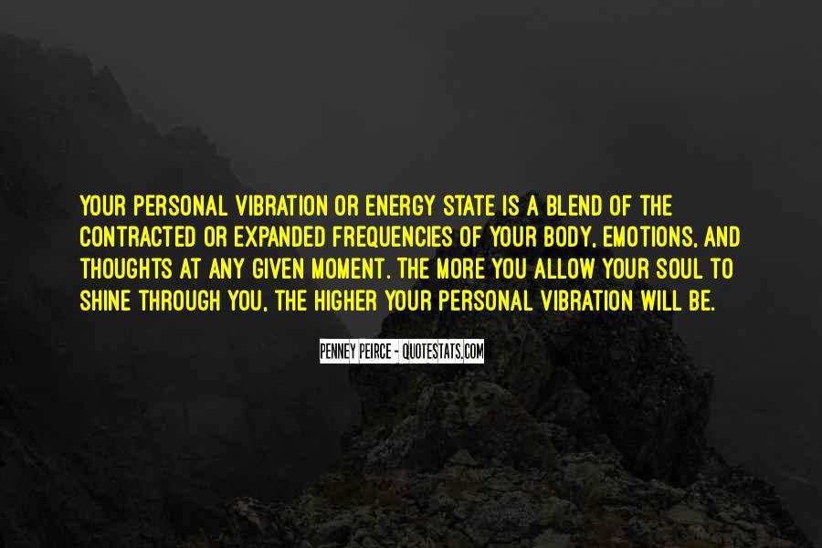 Soul And Energy Quotes #435136