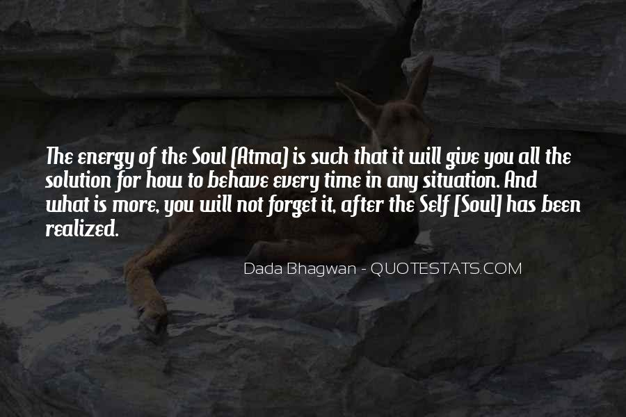 Soul And Energy Quotes #597639