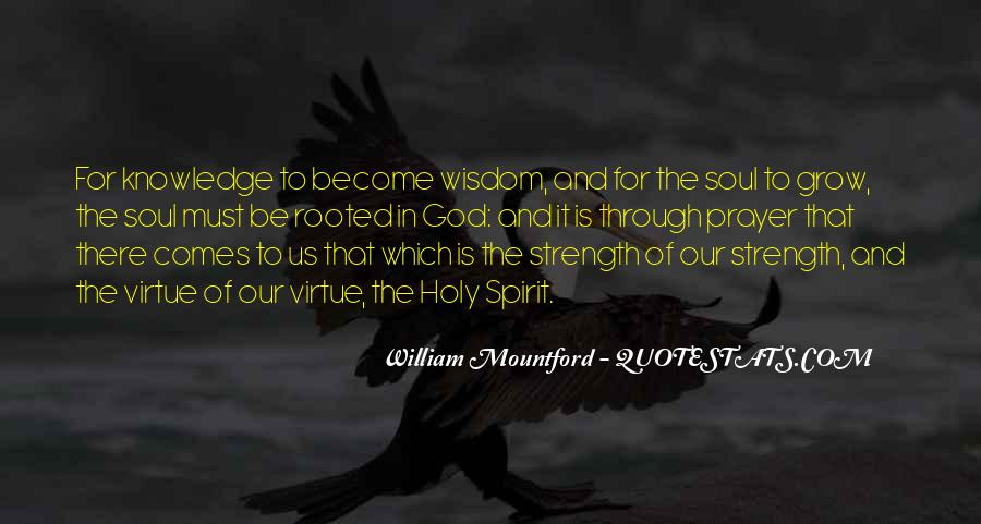 Soul And Spirit Quotes #121345