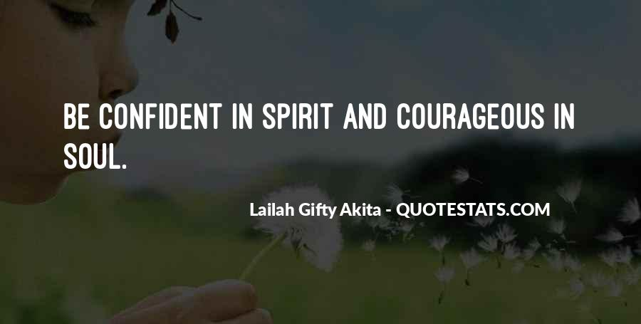 Soul And Spirit Quotes #156702