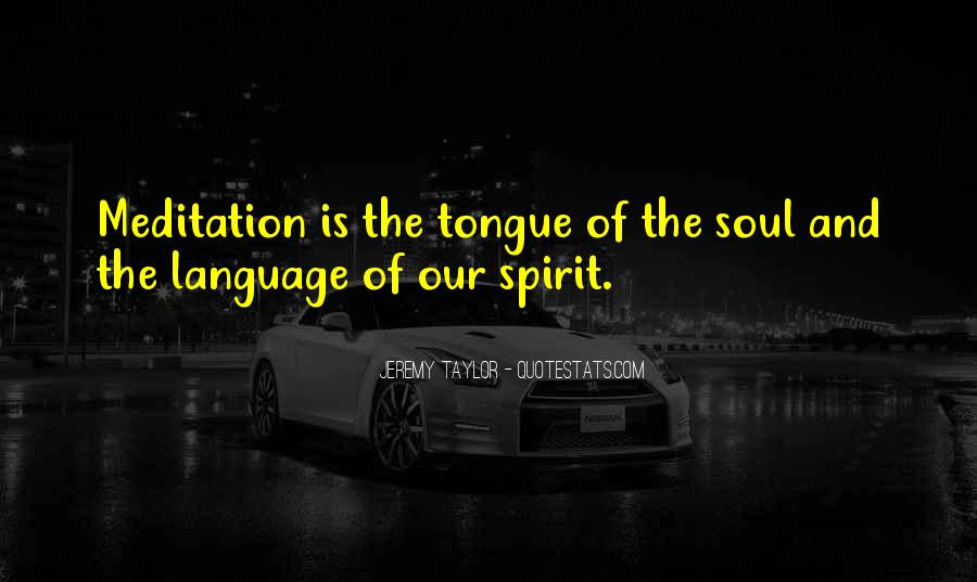 Soul And Spirit Quotes #165679