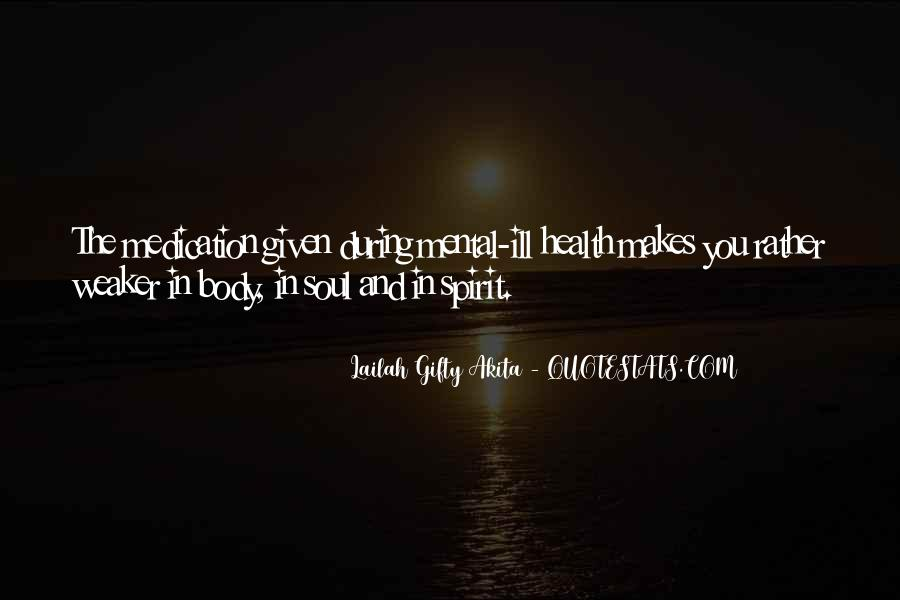 Soul And Spirit Quotes #168594