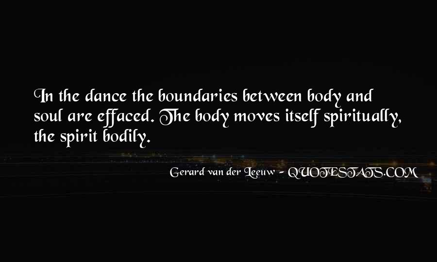 Soul And Spirit Quotes #183154