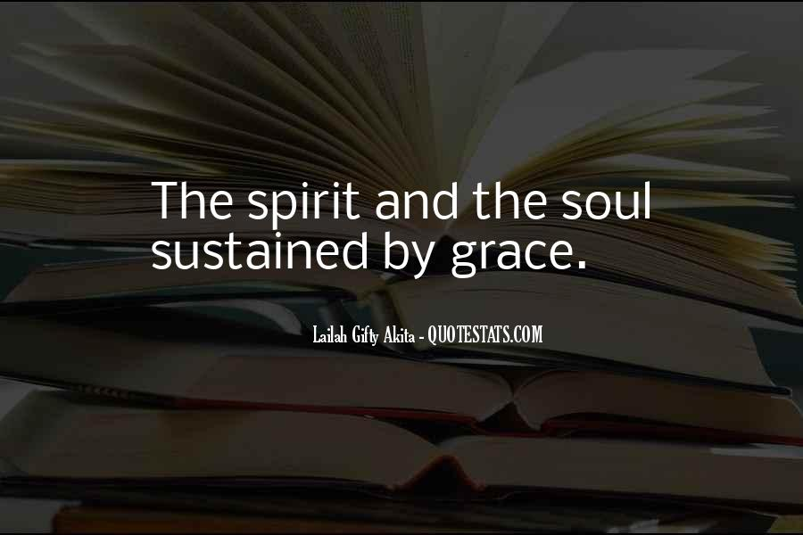 Soul And Spirit Quotes #184148