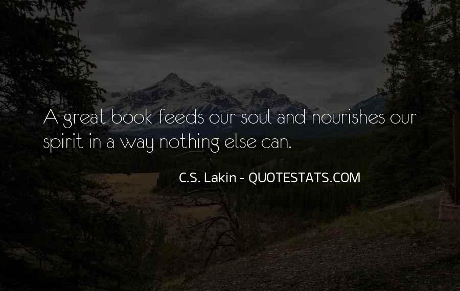 Soul And Spirit Quotes #184198