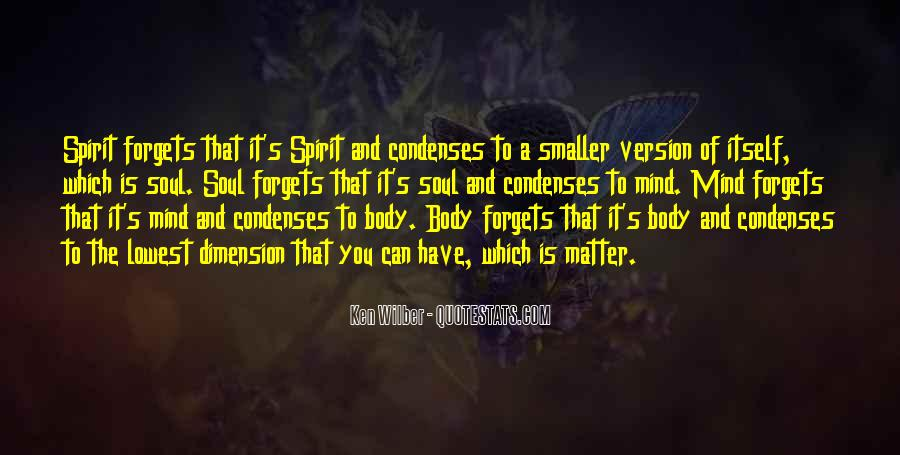 Soul And Spirit Quotes #199925
