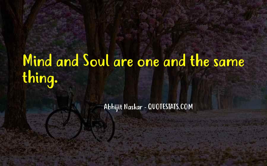 Soul And Spirit Quotes #262543