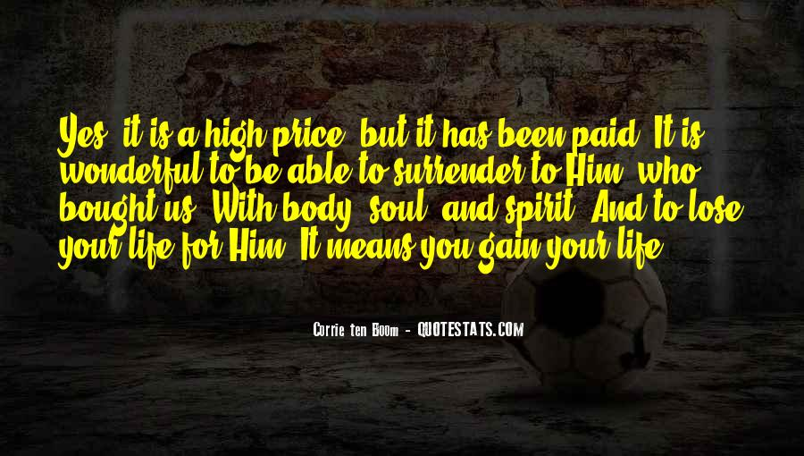Soul And Spirit Quotes #289387
