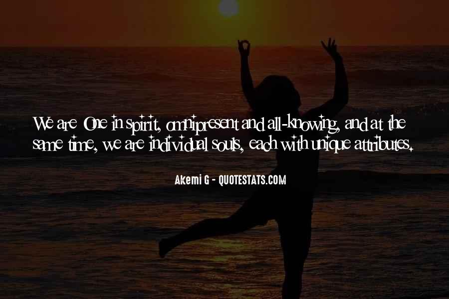 Soul And Spirit Quotes #292766