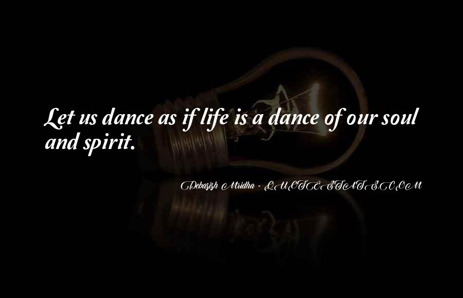 Soul And Spirit Quotes #320610