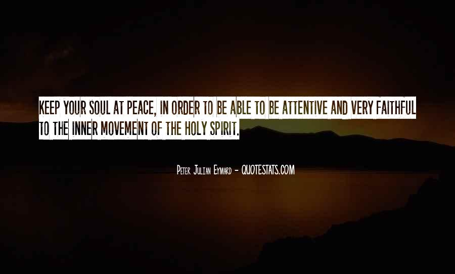 Soul And Spirit Quotes #326790