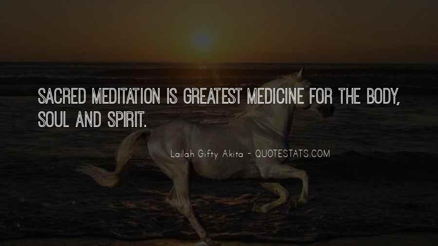 Soul And Spirit Quotes #345544