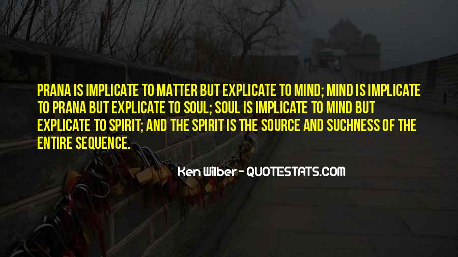 Soul And Spirit Quotes #385819