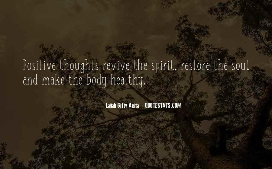 Soul And Spirit Quotes #66568