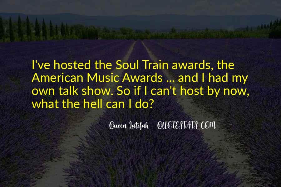Soul Train Quotes #463612