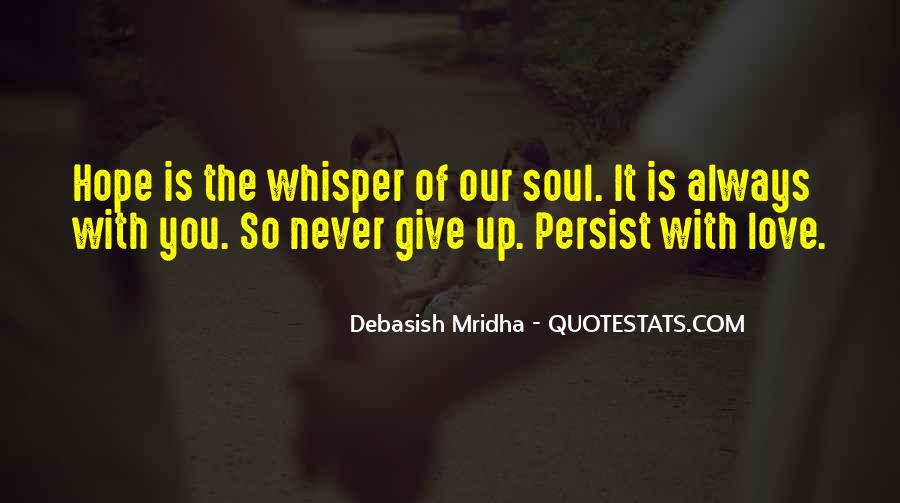 Soul Whisper Quotes #134580