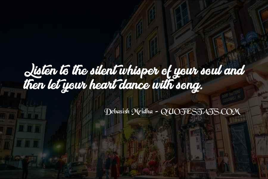 Soul Whisper Quotes #1863369
