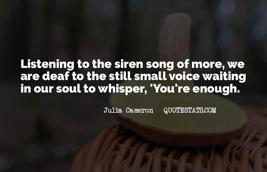 Soul Whisper Quotes #237433