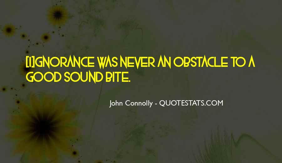 Sound Bite Quotes #483747