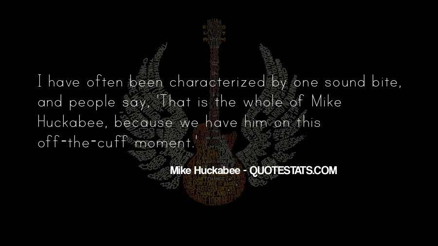 Sound Bite Quotes #734514