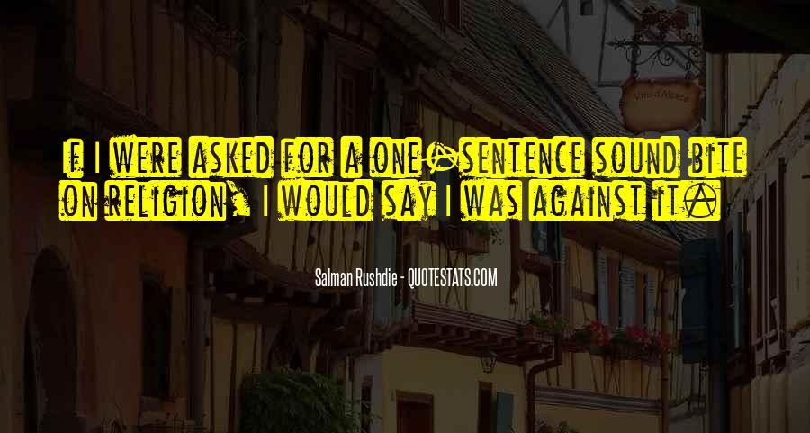 Sound Bite Quotes #951223