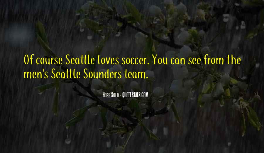 Sounders Quotes #1852016