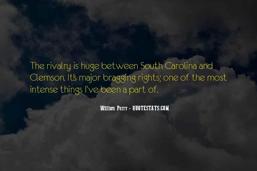 South Carolina-clemson Rivalry Quotes #720275