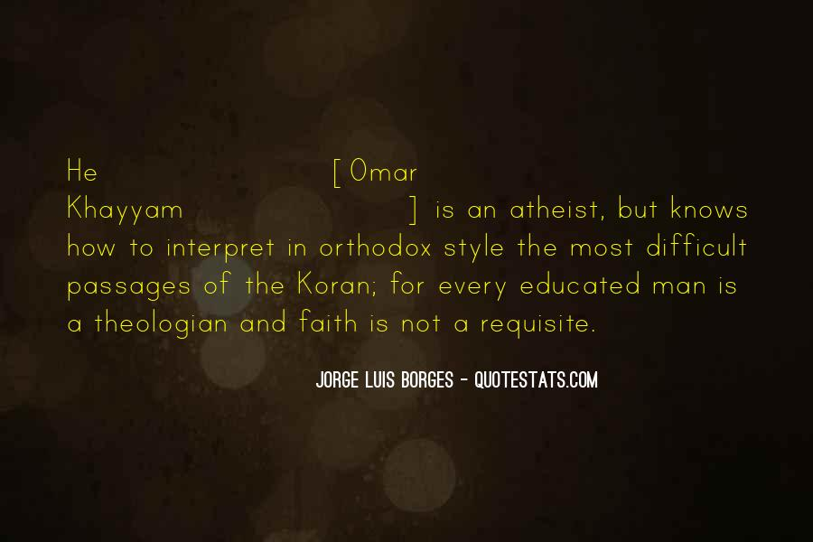 Quotes About Omar #267645