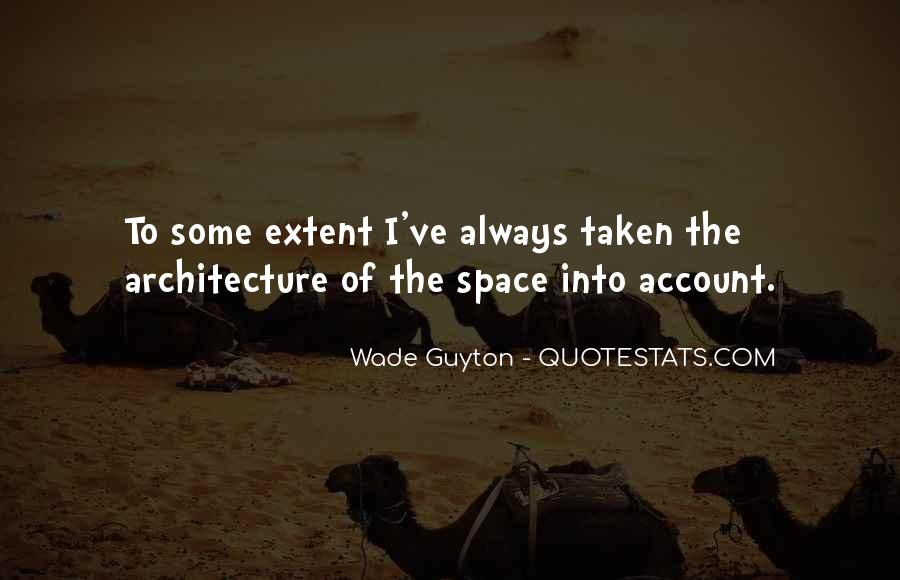 Space In Architecture Quotes #1010476