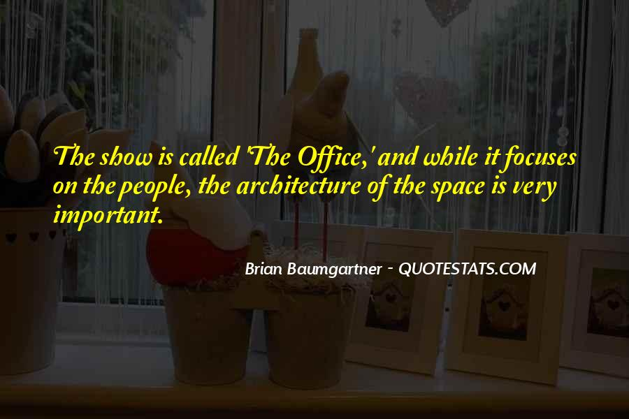Space In Architecture Quotes #1090215