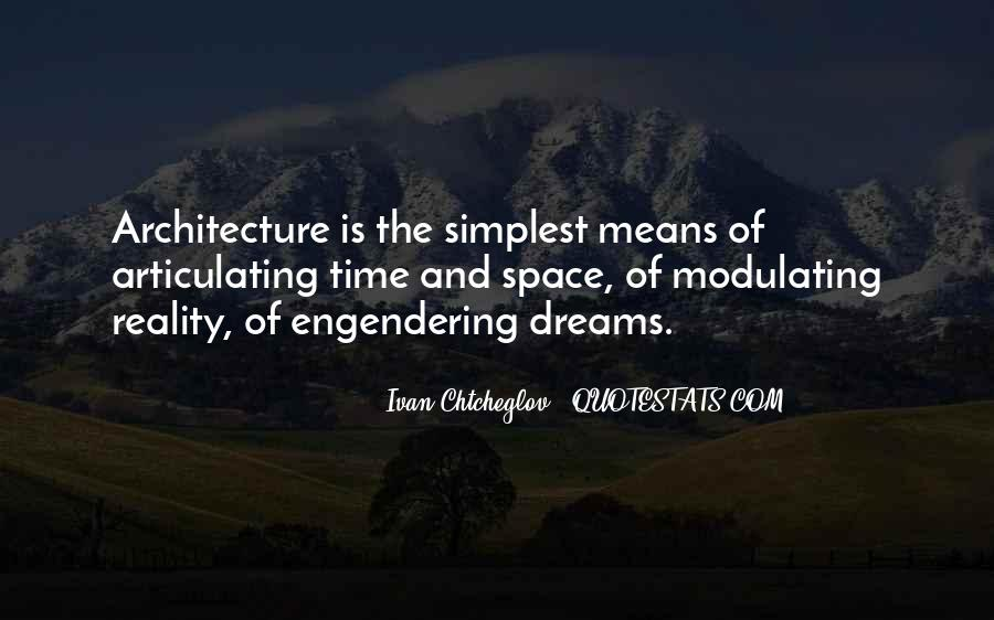 Space In Architecture Quotes #1166808