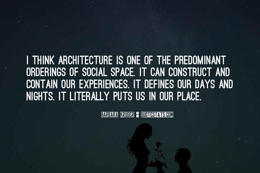 Space In Architecture Quotes #1237964