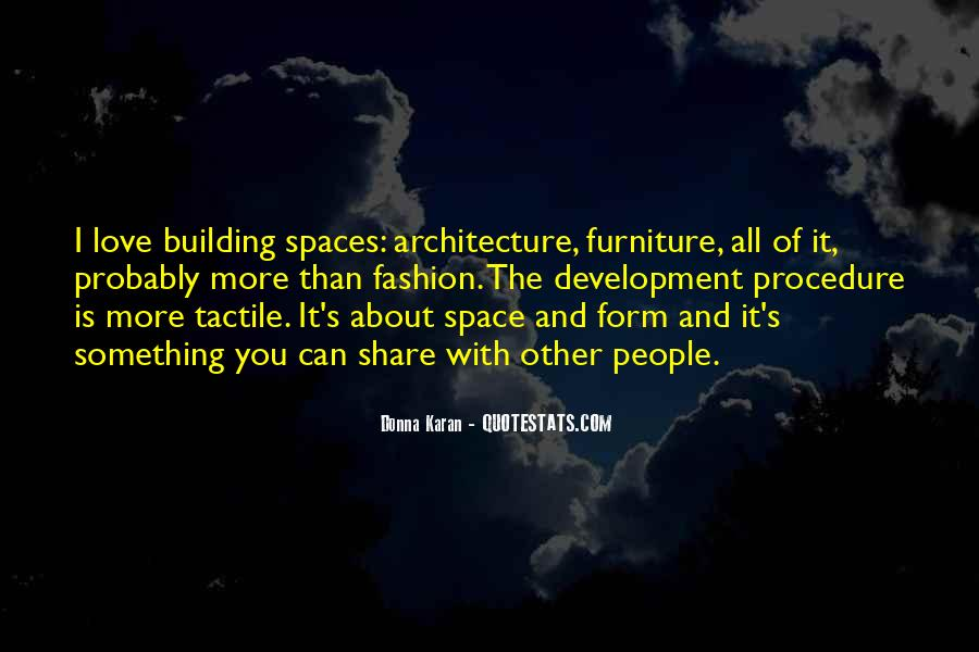 Space In Architecture Quotes #1387259