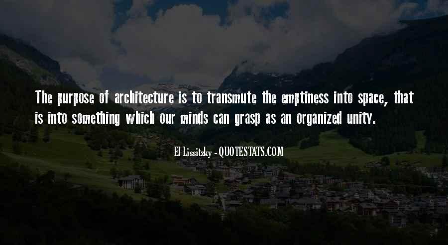 Space In Architecture Quotes #1636296